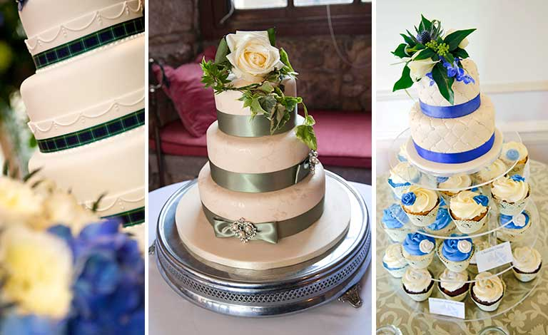 wedding photographer - wedding cake montage